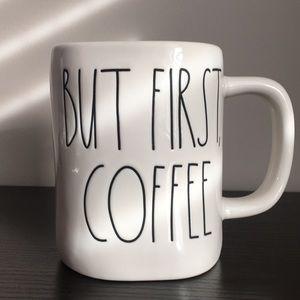 Rae Dunn But First, Coffee Mug
